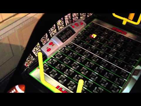 Fisher Price ESPN Fast Action Football Electronic Game Table - YouTube