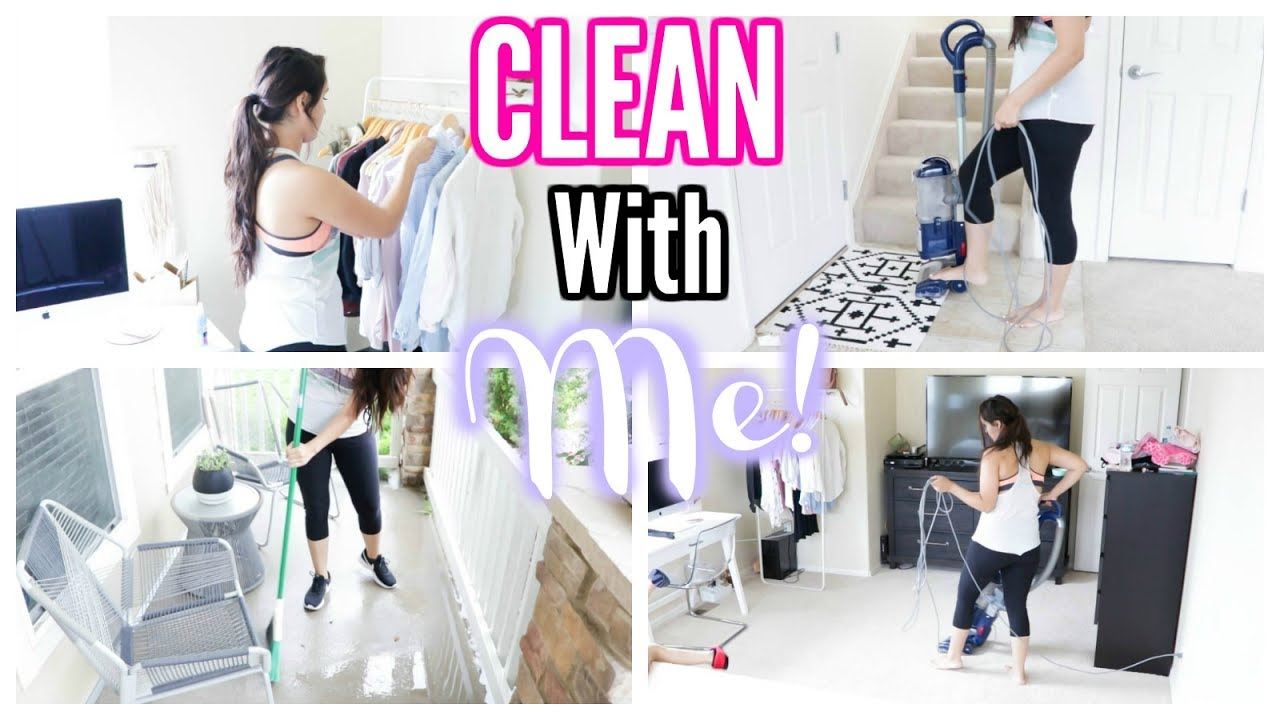 speed cleaning my house! sahm - youtube