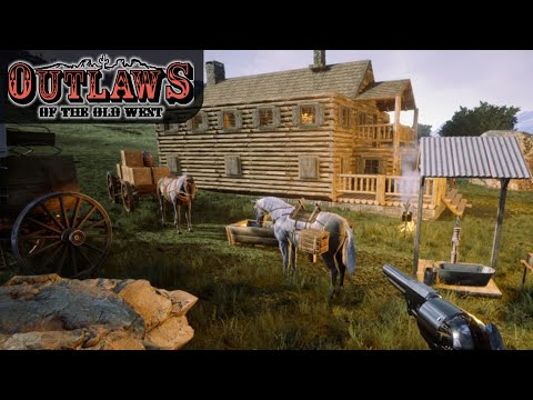 NEW OLD WEST SURVIVAL GAME DAY ONE | Outlaws Of The Old West | Gameplay | S01E01