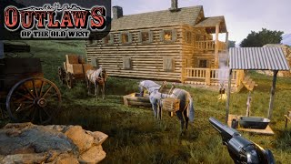 NEW OLD WEST SURVIVAL GAME DAY ONE   Outlaws of the Old West   Gameplay   S01E01