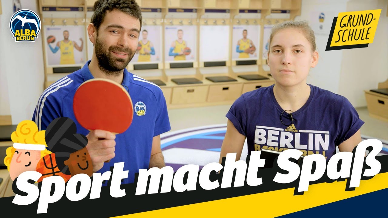 Grundschule 32 | Zuhause Tischtennis lernen | Sport macht Spaß
