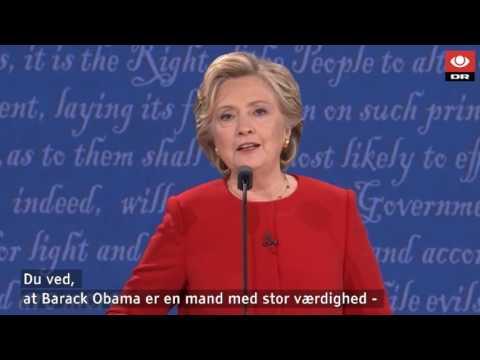 5 højdepunkter vi vil huske Clinton/Trump-debatten for - DR Nyheder