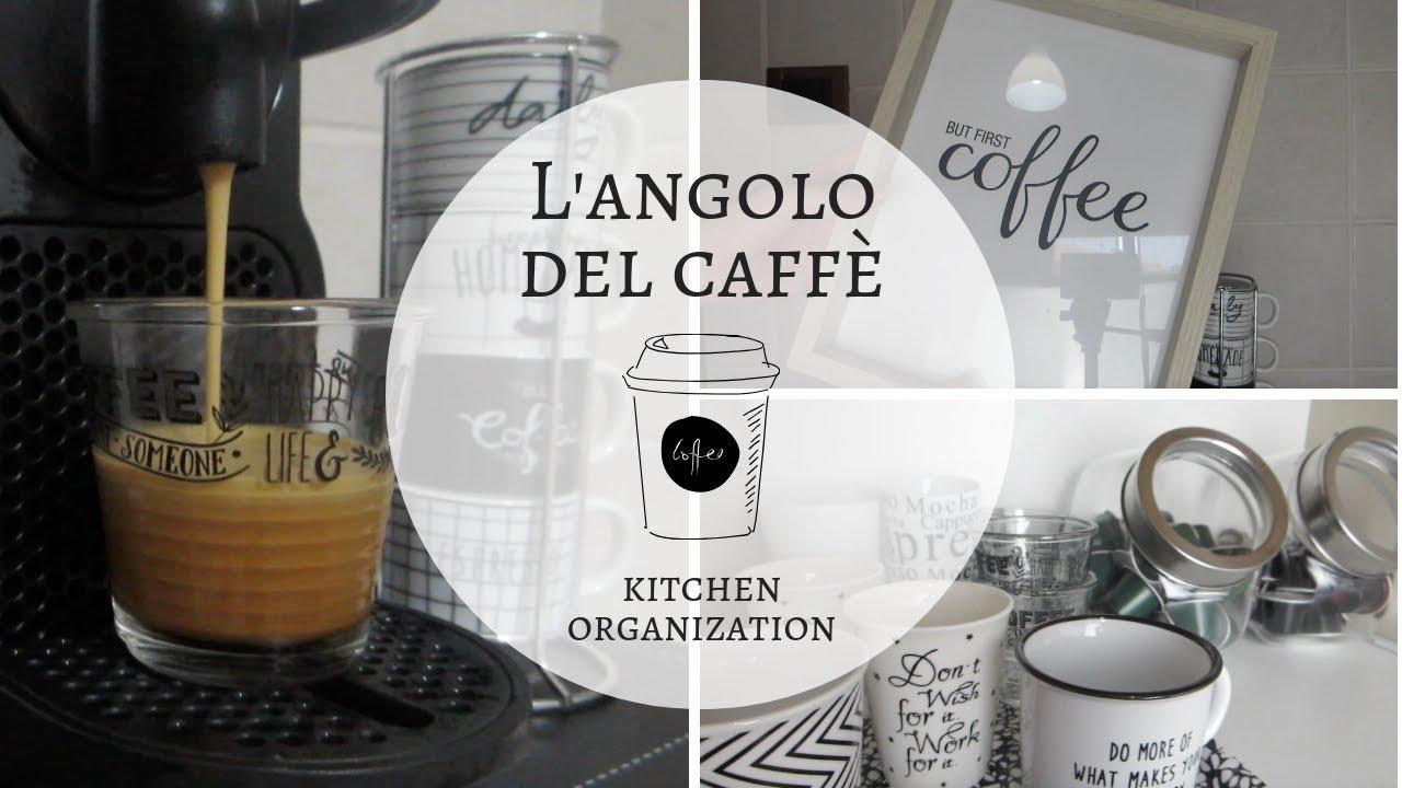Angolo Lavanderia Cucina : Il mio angolo del caffè idee per organizzare l angolo della