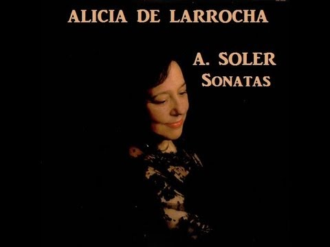 Alicia de Larrocha plays Soler - Sonata in G minor, Nin No.11