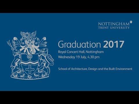 NTU Graduation 2017 - Wednesday 19 July, 4.30 pm