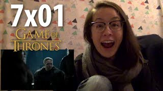 Rin watches Game of Thrones (Reaction) 7x01