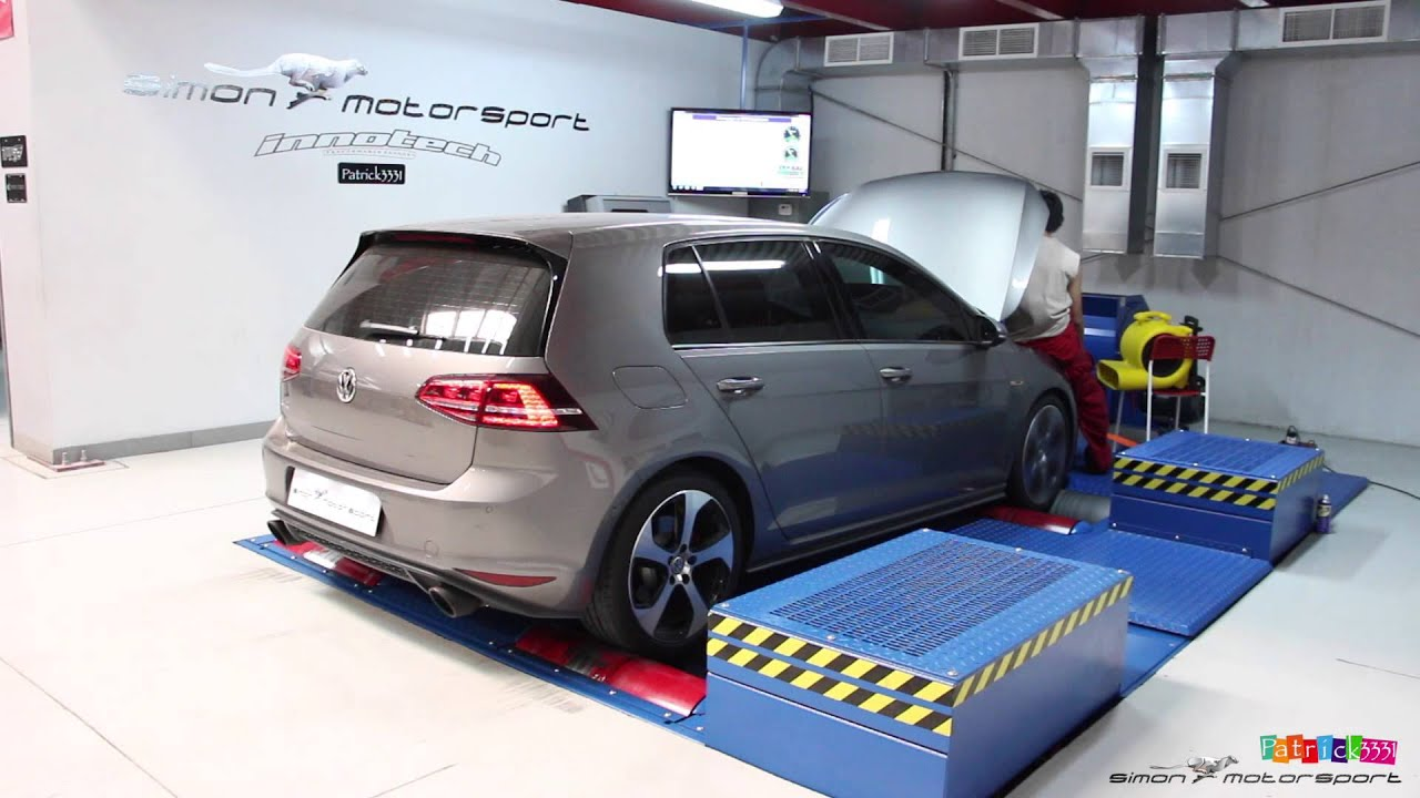 vw golf gti mk 7 stage 2 with 345hp by simonmotorsport. Black Bedroom Furniture Sets. Home Design Ideas