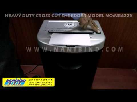High performance large document shredder/heavy duty shredder for top security standards