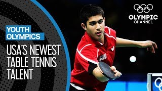 Kanak Jha: USA's newest Table Tennis Talent | Youth Olympic Games