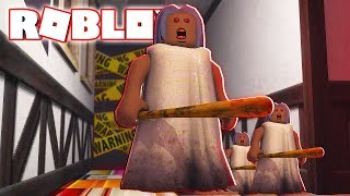 BAD GRANNY INVITED ME! -Roblox