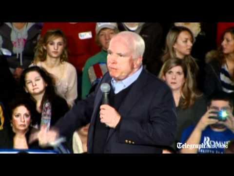 US Election 2012: John McCain endorses Mitt Romney
