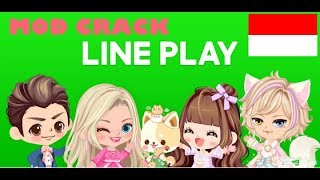 LINE PLAY Indonesia All Outfits And Accessories Mod