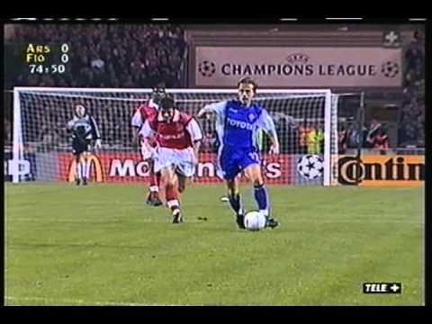 1999 October 27 Arsenal England 0 Fiorentina Italy 1 Champions League