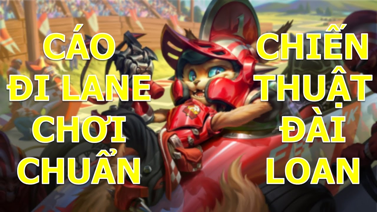 Cáo Fennik tay đua F1 đi lane cực mạnh với cách chơi chuẩn Đài Loan leo rank cao thủ quá dễ