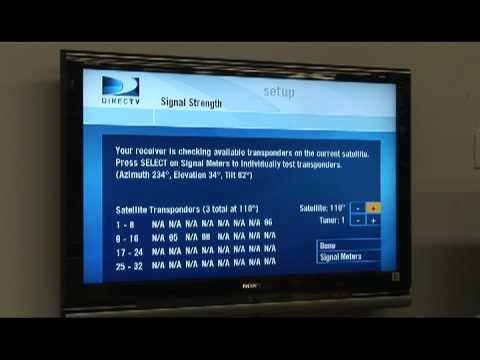 directv swm not detected 775 data model diagram tool free tv electronics installation troubleshooting youtube
