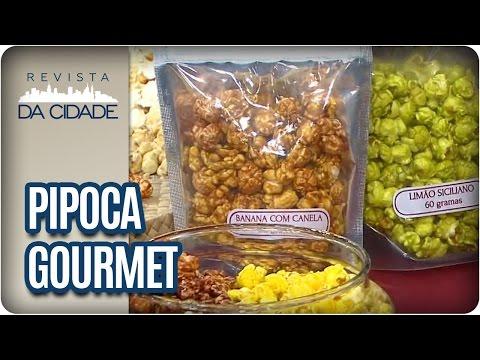 Como fazer Pipoca Gourmet de vários sabores - Revista da Cidade (10/01/17)