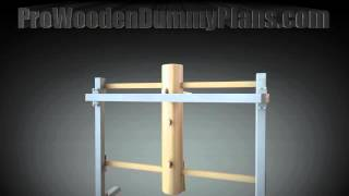 Pro Wing Chun Wooden Dummy Plans 2013