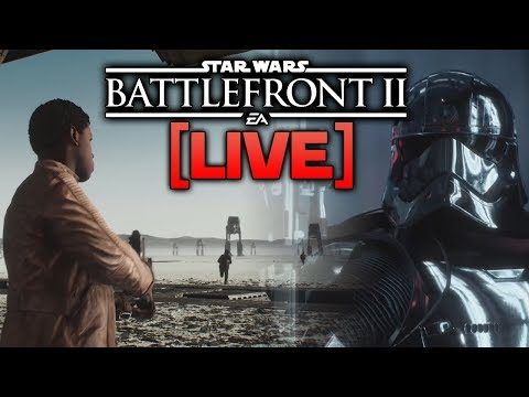 CRAIT, DQAR, PHASMA & FINN ARE HERE - Battlefront 2 Live!