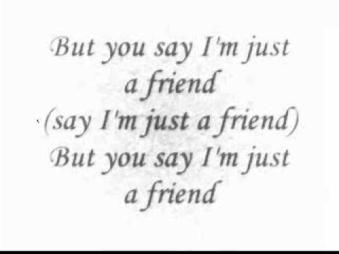 Just a Friend by Mario Lyrics