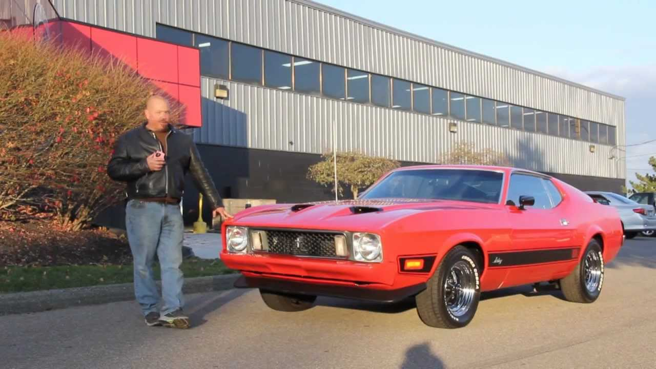1973 Ford Mustang Mach 1 Classic Muscle Car for Sale in MI Vanguard ...