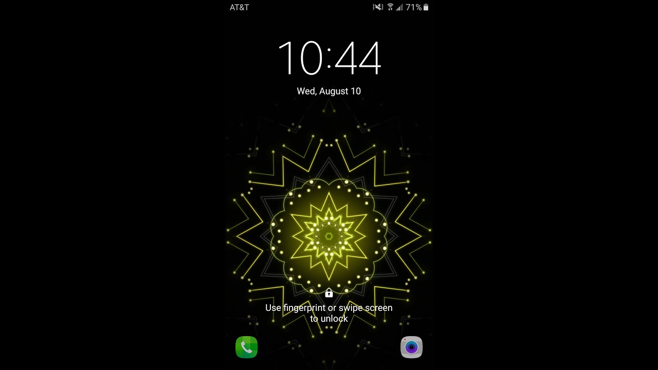LG G5 Kaleidoscope live wallpaper No Root! Android