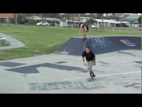 Tugun Skate Park Session.