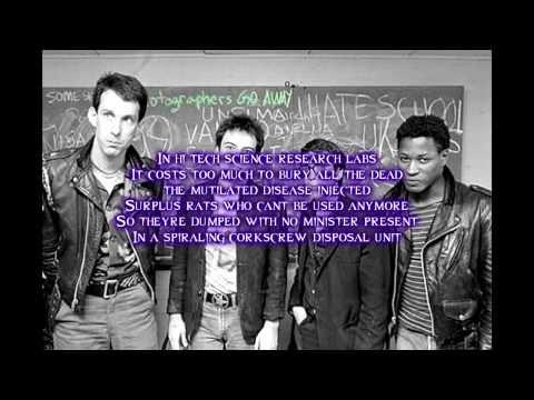 Dead Kennedys-Soup is Good Food (lyrics video)