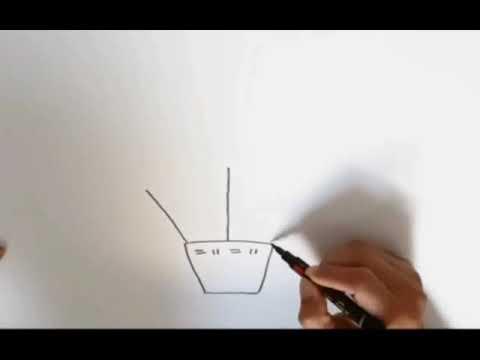 Tutorial menggambar balon udara TK santo yusup - YouTube