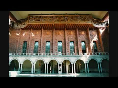 Stockholm City Hall Organ - Alfred Hollins - Concert Ouverture in C minor