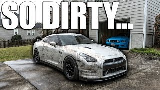 The DIRTIEST GT-R in the WORLD!