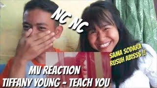 TIFFANY YOUNG - TEACH YOU | MV REACTION | SAMA SODARA RUSUH ABISS! #NCNC - GS OFFICIAL