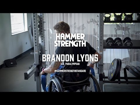 Brandon Lyons | #HammerStrengthStandard - YouTube