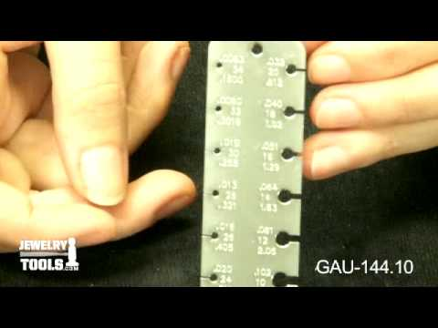 Gau 14410 pocket wire gauge 3 516 inches by 1 inch jewelry gau 14410 pocket wire gauge 3 516 inches by 1 inch jewelry making tools demo keyboard keysfo Gallery