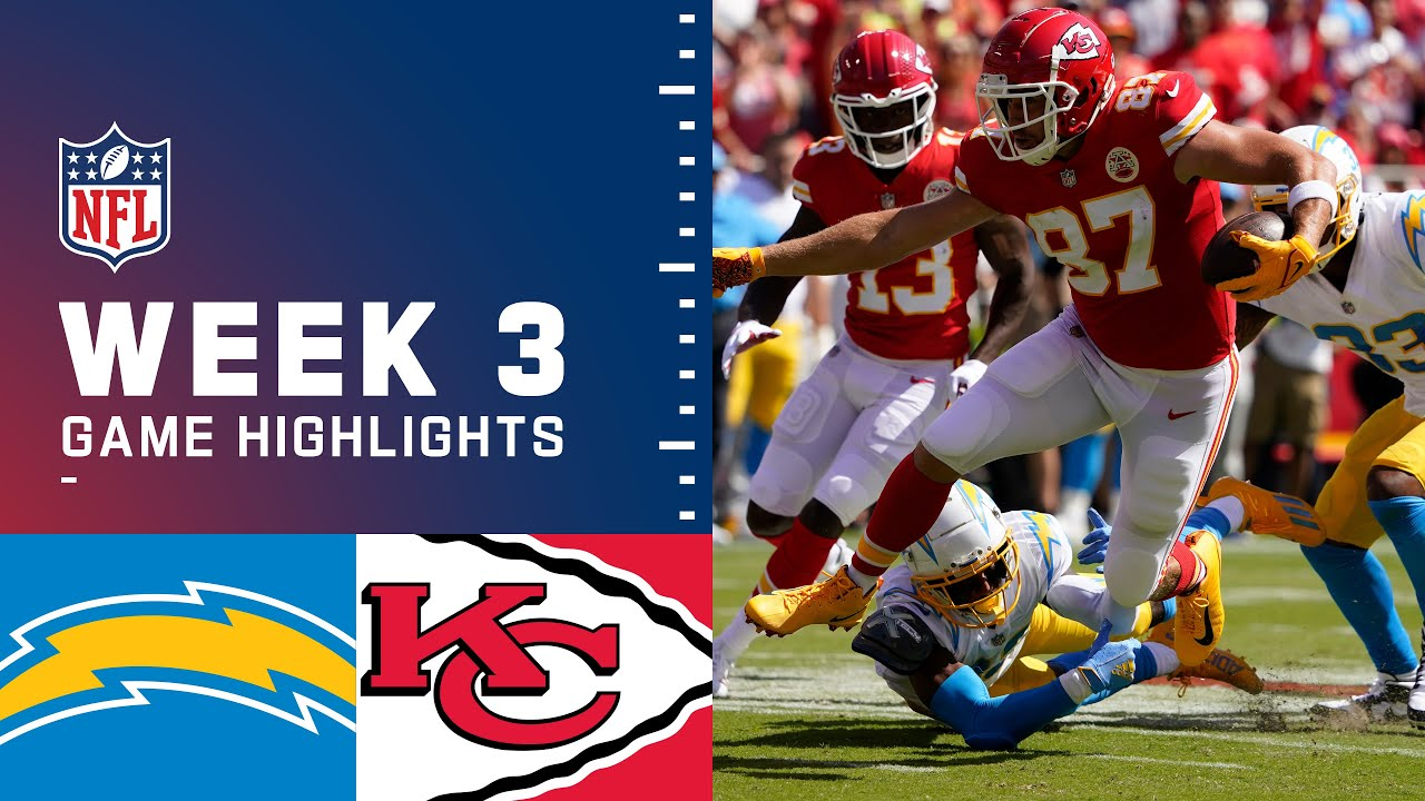 Download Chargers vs. Chiefs Week 3 Highlights | NFL 2021