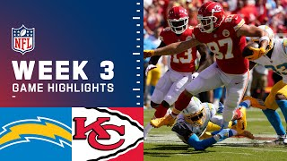 Chargers vs. Chiefs Week 3 Highlights | NFL 2021
