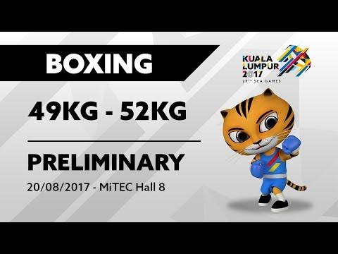 KL2017 Boxing - 49KG-52KG PRELIMINARY | 20/08/2017