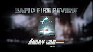 Destiny 2: Shadowkeep - Rapid Fire Review (Video Game Video Review)