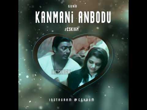 kanmani anbodu kadhalan BGM From Guna