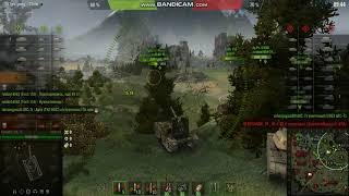 взорвал бк world of tanks