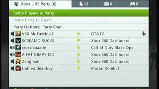 Hilarious Xbox Live Fight!