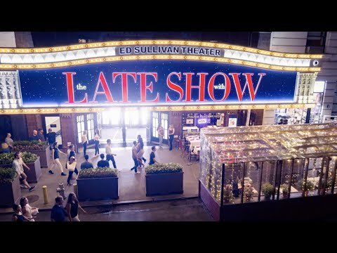 NEW OPENING CREDITS - The Late Show with Stephen Colbert