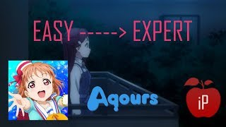 Omoiyo Hitotsuninare - Aqours l EASY→EXPERT l LivePlay by iPhong (Love Live! Festival)