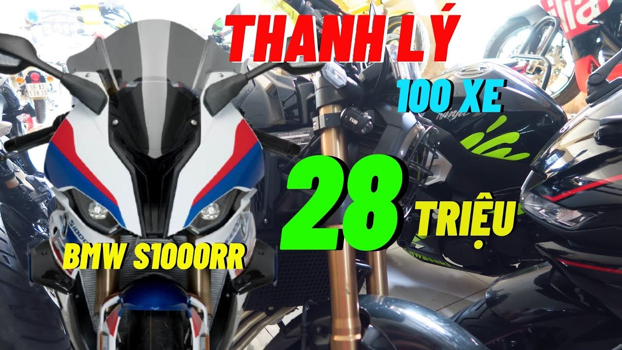 Thanh Lý Moto BMW S1000RR Và Hơn 100 Xe Moto Cũ Giá Rẻ | Thắng Biker