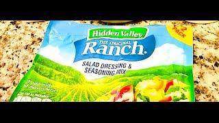 Homemade Hidden Valley Ranch
