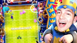 HAVING A BLAST WITH TOUCHDOWN [Clash Royale]