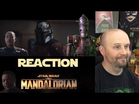 The Mandalorian - Official Trailer - Disney+ - Streaming Nov. 12 - REACTION