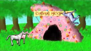Unicorns Frollicking in the Enchanted Gumdrop Forest