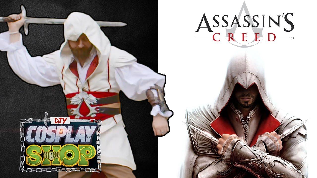 Ezio Assassin S Creed Diy Cosplay Shop Youtube