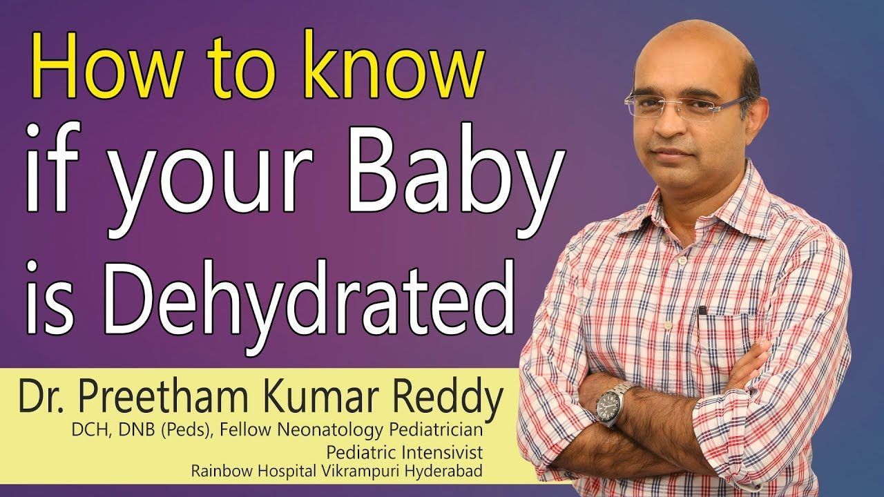 Hi9 | How to know if your baby is Dehydrated | Dr Preetham Kumar Reddy |  Consultant Pediatrician