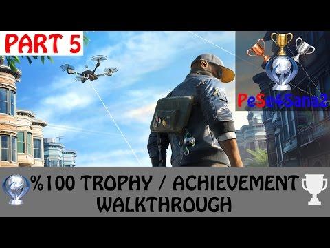 Watch Dogs 2 - All Trophies / Achievements Walkthrough - Platinium Run - Part 5